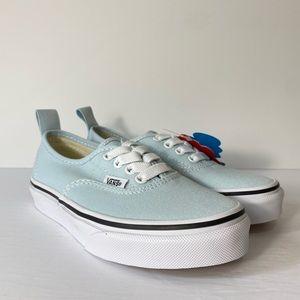 Vans Authentic Elastic Baby Blue Sneakers
